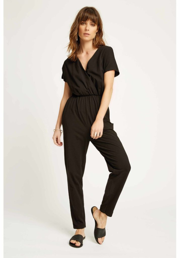 People Tree - Oliana Jumpsuit in Black