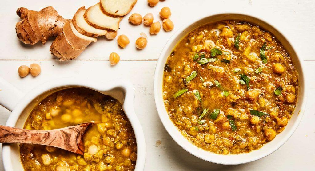 channa potato stew